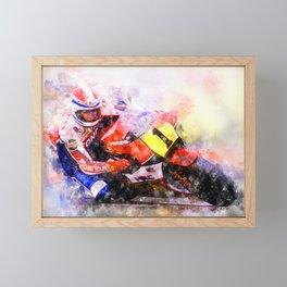 Freddie Spencer Framed Mini Art Print