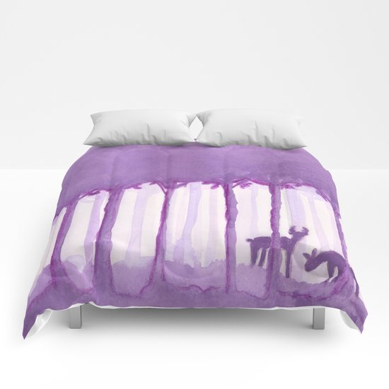 a forest Comforters