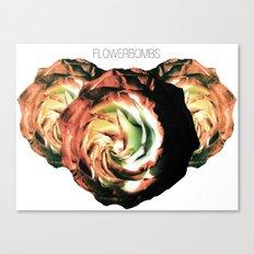Flowerbombs Canvas Print