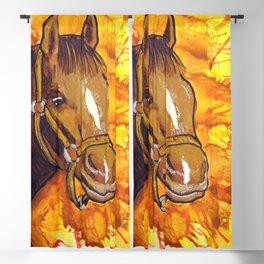 The Horse That Ran Away Blackout Curtain