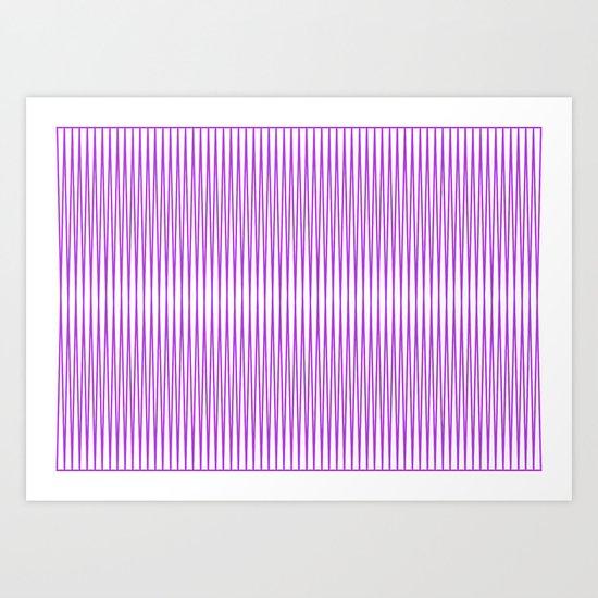 Eye line Art Print