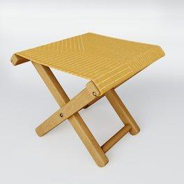 Lines / Yellow Folding Stool