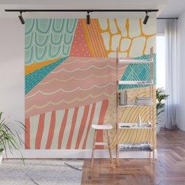 beach quilt Wall Mural