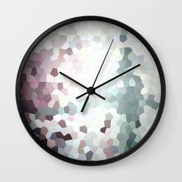 Hex Dust 1 Wall Clock