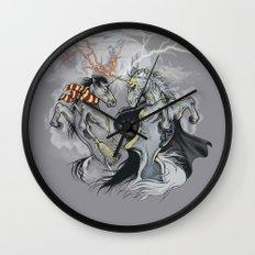 Retold with Unicorns II Wall Clock