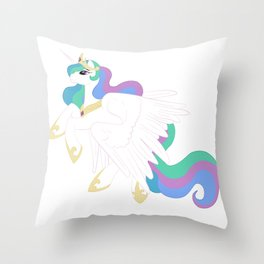Princess Celestia Throw Pillow
