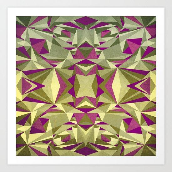 ARTDECO ABSTRACTION Art Print