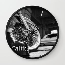 Cali Helmet Wall Clock