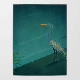 Camouflage: The Crane Poster