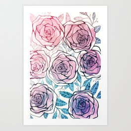 Ode to Summer Art Print