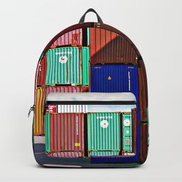 Colorful containers II Backpack