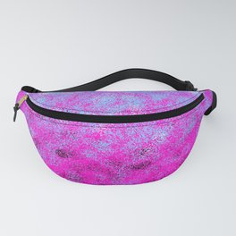 Totally Awesome Periwinkle Lavender Pink Fanny Pack