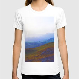 Land of Legends - Blue, Green and Purple T-shirt