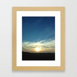 Break Through. Framed Art Print