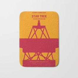 No081 My Star Trek 1 minimal movie poster Bath Mat