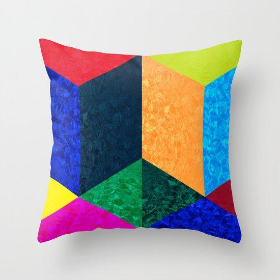 Ruby Summer Throw Pillow