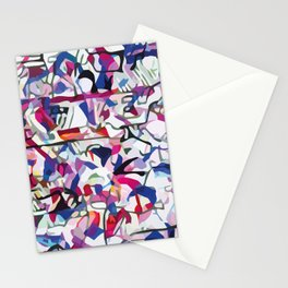 Crowd - 3 Stationery Cards