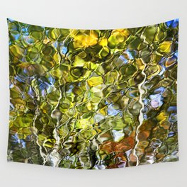 Abstract Tree Reflection Wall Tapestry