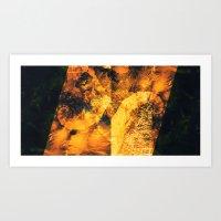 Geo Shells Art Print