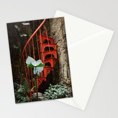 Up up and nowhere Stationery Cards