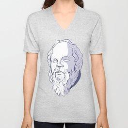 Socrates Unisex V-Neck