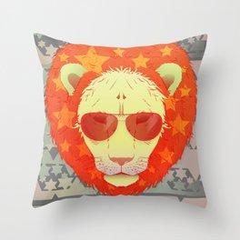 Lion Star Throw Pillow