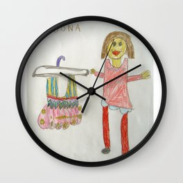 Ballet Time for Dona Wall Clock