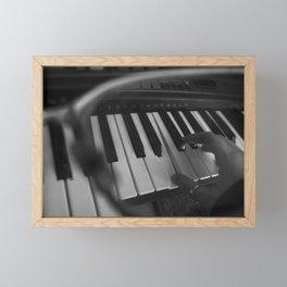 Piano Through an Eyeglass (1 of 3) Framed Mini Art Print