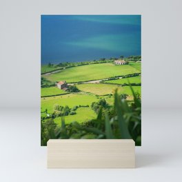 Sete Cidades crater Mini Art Print