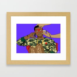 """Nerds Are Cool"" by Keith Moses Wardlaw A.K.A. kmoses215 Framed Art Print"