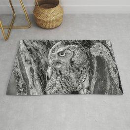 Echo the Screech Owl by Teresa Thompson Rug