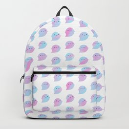 Kawaii Watercolour Ghosts (Unicorn) Backpack