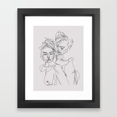 Other Half Framed Art Print