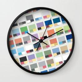 Poke-Pantone 3 (Hoenn Region) Wall Clock
