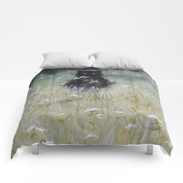 Nature Spirit - painting Comforters