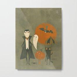 Soon Halloween Metal Print