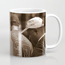 Fans at a Baseball Game Coffee Mug