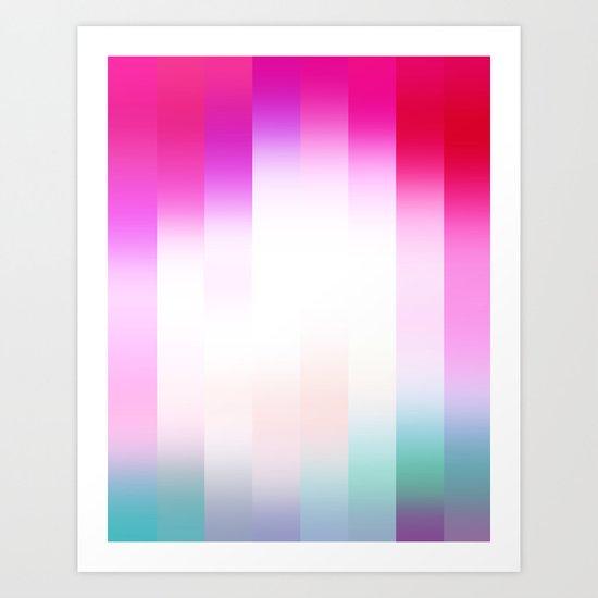 Raspberry Delight Art Print