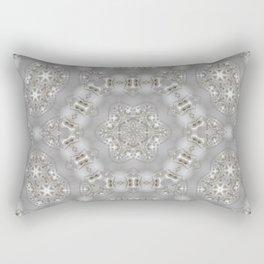 Babies Breath Kaleidoscope Rectangular Pillow