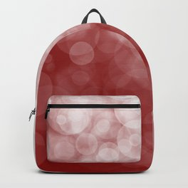 Cranberry Spotted Backpack