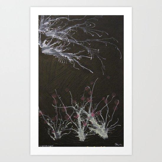 Winter ends Art Print