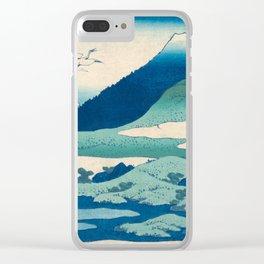 Katsushika Hokusai, Thirty-six Views of Mount Fuji Clear iPhone Case