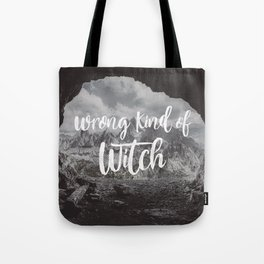 Manon Blackbeak - Wrong kind of witch Tote Bag