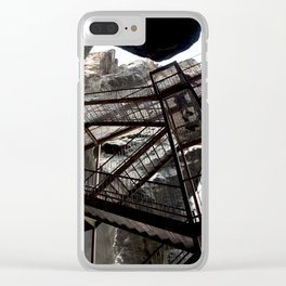 Box Canyon Falls - View from the Bottom of the Crevasse Clear iPhone Case