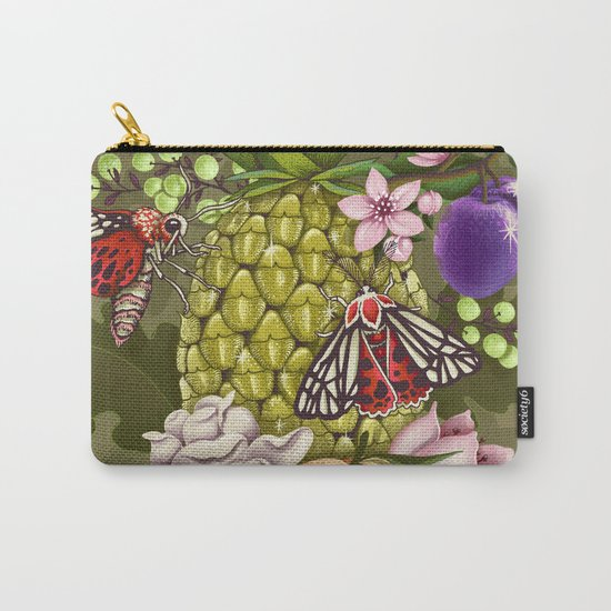 Glam Tropical Carry-All Pouch
