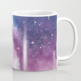 Indigo Purple Watercolor Galaxy - Galactic Love Coffee Mug