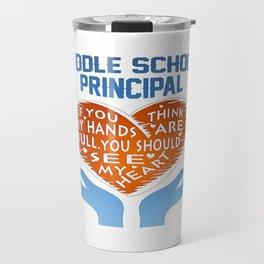 Middle School Principal Travel Mug