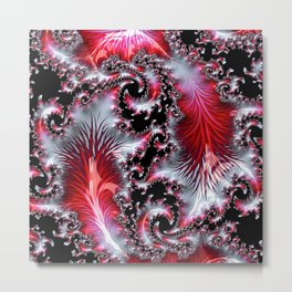 Red Feather Fair Metal Print