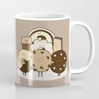 cookies Mugs featuring I ❤️ cookies by maRiLisa