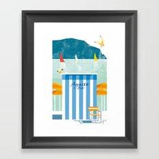 Illustre Conero - Annito & son Framed Art Print
